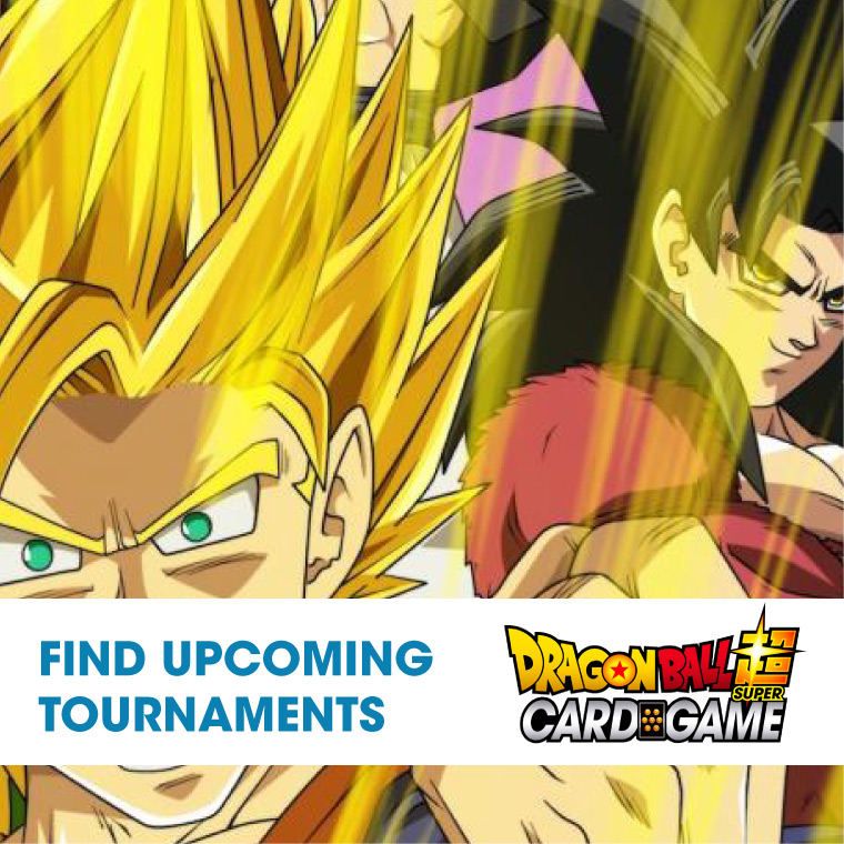 Tournament Center Upcoming Event Dragon Ball Cg