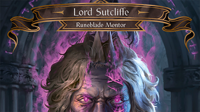 Mentor Lord Sutcliffe